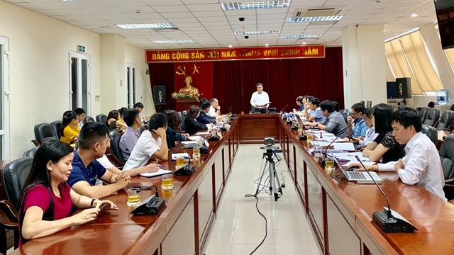 Lãnh đạo cục thuế Hà Nội họp với đại diện các tổ chức cung cấp HĐĐT