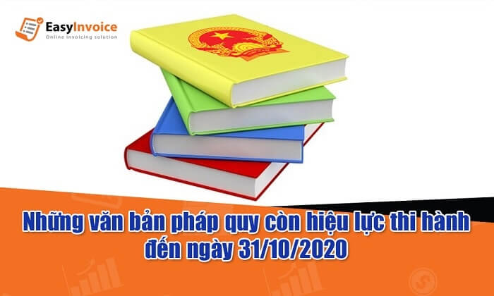 Nhiều văn bản về hóa đơn điện tử vẫn có hiệu lực đến hết ngày 30/10/2020