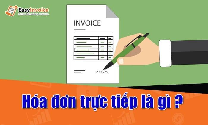 hóa đơn trực tiếp là gì