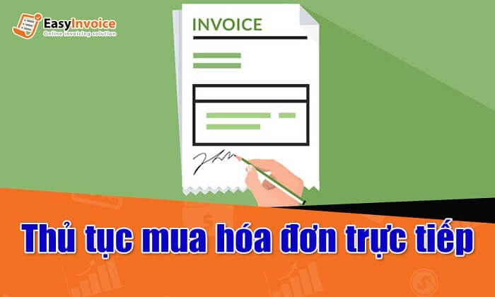 Thủ tục mua hóa đơn trực tiếp