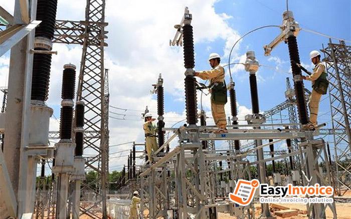 hóa đơn điện tử trong dịch vụ xây dựng, lắp đặt