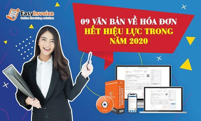 van ban quy dinh ve hoa don het hieu luc 2020